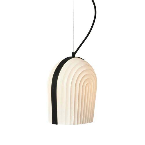 Le Klint - ARC Pendelleuchte, Eiche schwarz / Lampenschirm weiß