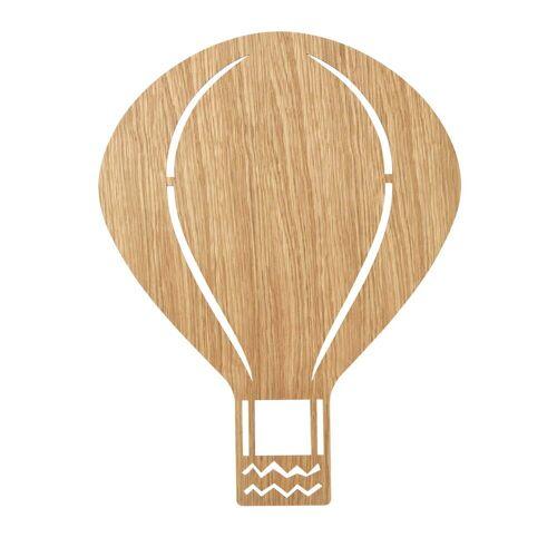 ferm LIVING - Luftballonlampe, Eiche geölt