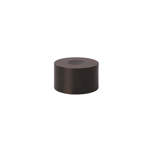 ferm LIVING - Disc Shade Lampenschirm, schwarzer Messing