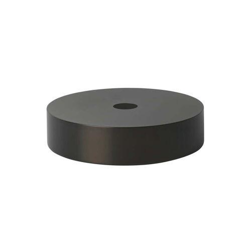 ferm LIVING - Record Lampenschirm, schwarzer Messing