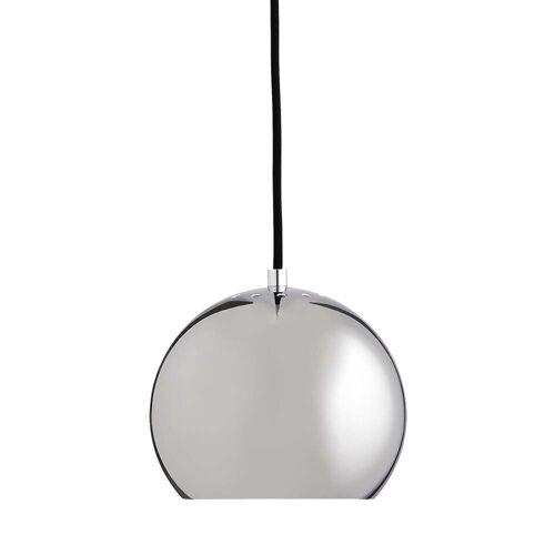 Frandsen - Ball Pendelleuchte Ø 18 cm, Chrom / weiß