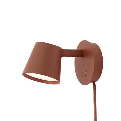 Muuto - Tip LED-Wandleuchte, kupfer-braun