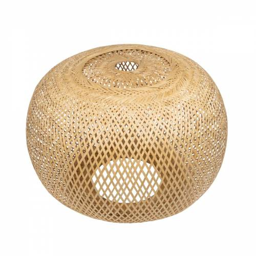 Connox Collection - Bambus-Lampenschirm Ø 52 x H 38 cm