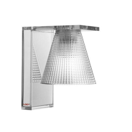 Kartell - Light-Air Wandleuchte, glasklar