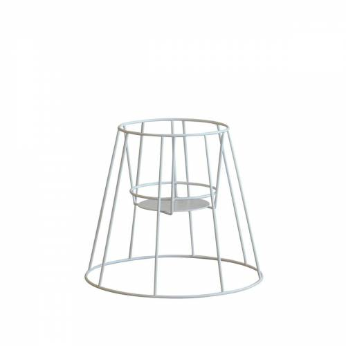 OK Design - Cibele Blumentopfständer H 30 cm, white