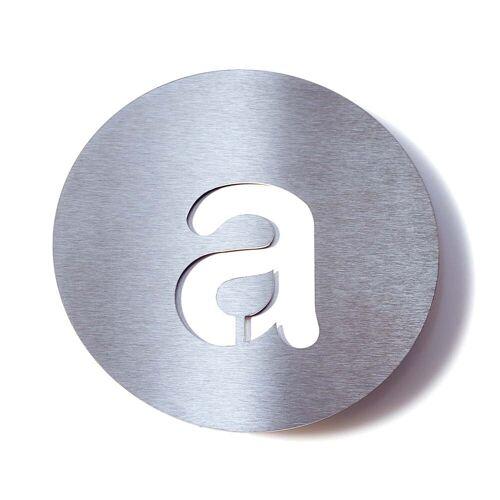 Radius Design - Hausnummer a, weiß