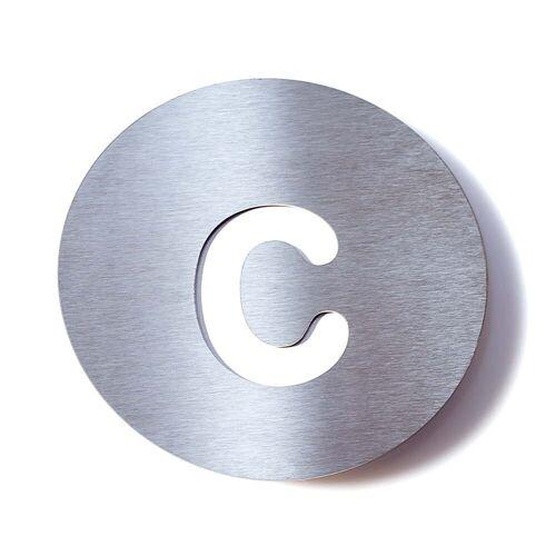 Radius Design - Hausnummer c, weiß
