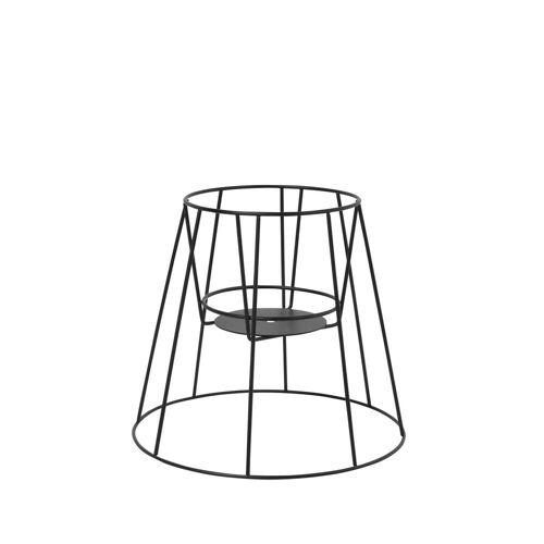 OK Design - Cibele Blumentopfständer H 30 cm, schwarz