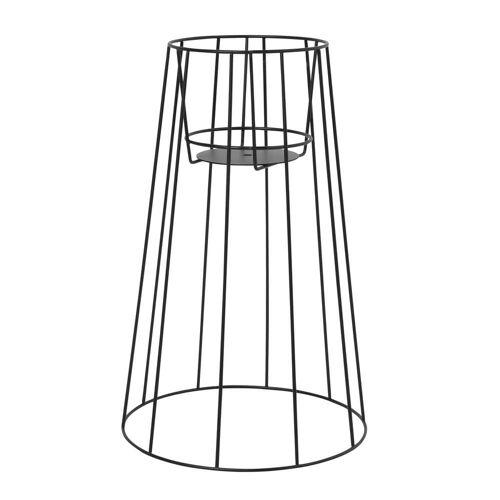 OK Design - Cibele Blumentopfständer H 54 cm, schwarz