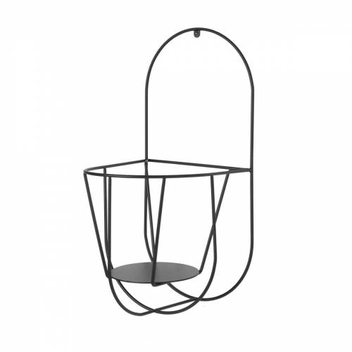 OK Design - Cibele Wand-Blumentopfhalter Large, schwarz