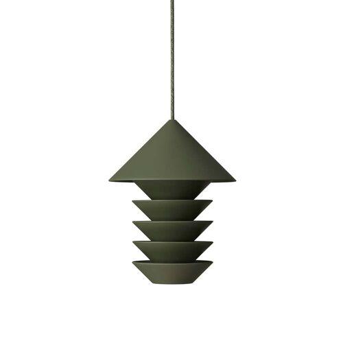 Pidät - Bird Silo Vogelfutterstation, H 23 cm, grün