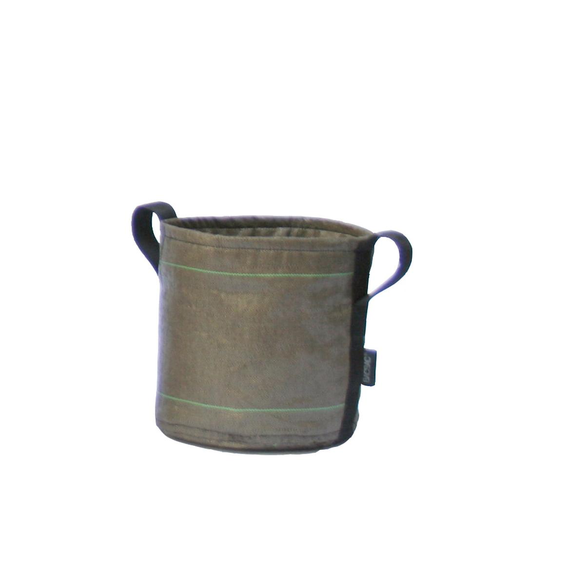 BACSAC - Pot Pflanztasche Geotextil 10 l, braun