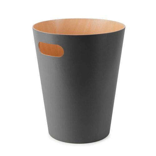 Umbra - Woodrow Papierkorb, charcoal