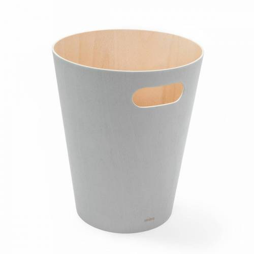 Umbra - Woodrow Papierkorb, grau
