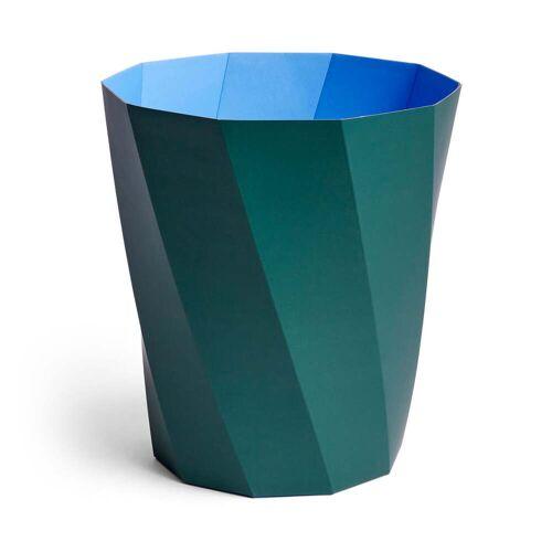 HAY - Paper Paper Papierkorb, Ø 28 x H 30,5 cm, dunkelgrün