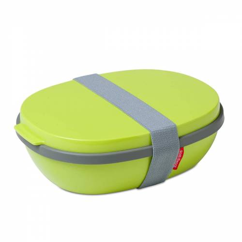 Rosti Mepal - To Go Elipse Lunchbox, lime