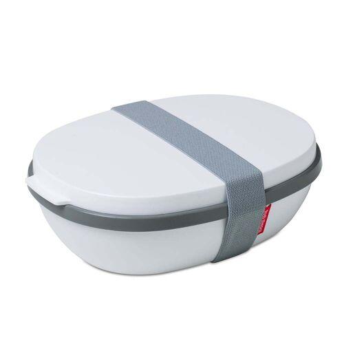 Rosti Mepal - To Go Elipse Lunchbox, weiß