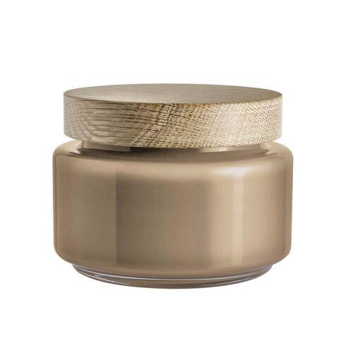 Holmegaard - Palet Aufbewahrungsglas, braun, 1,2 l