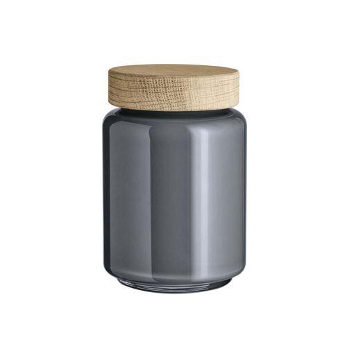 Holmegaard - Palet Aufbewahrungsglas, dunkelgrau, 0,7 l