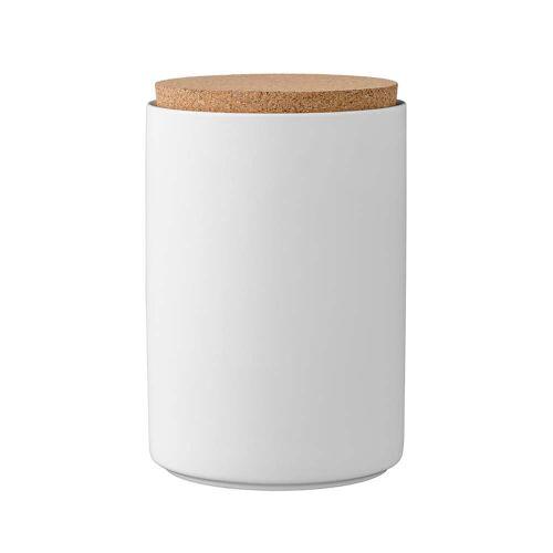 Bloomingville - Vorratsdosen mit Deckel H16 cm, weiß