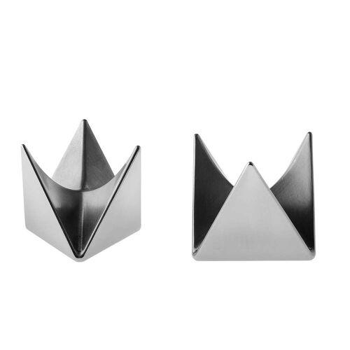 Alessi - Roost Eierbecher, Aluminium (2er-Set)