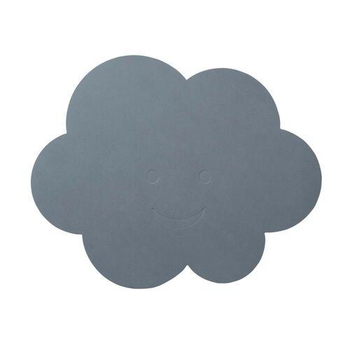 LindDNA - Kinder-Tischset Wolke, Nupo hellblau