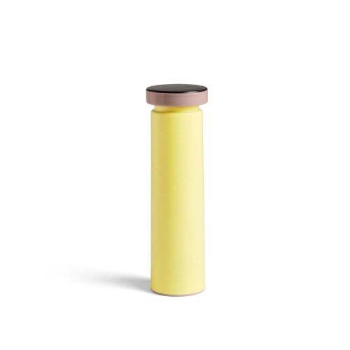 HAY - Sowden Salz- und Pfeffermühle M, Ø 6 x H 20 cm, gelb