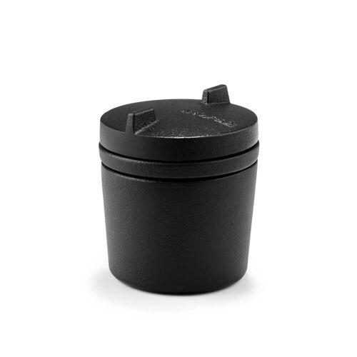 Morsø - SPICE '14 Gewürztopf mit Mörserfunktion Ø 8 x H 9,5 cm, schwarz