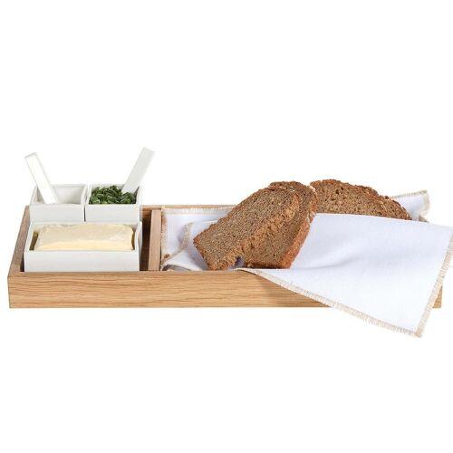Raumgestalt - Brot, Butter & Salz, Eiche / weiß