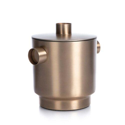 XLBoom - Rondo Eiswürfelbehälter small, Stahl kupfer, Ø 13 cm