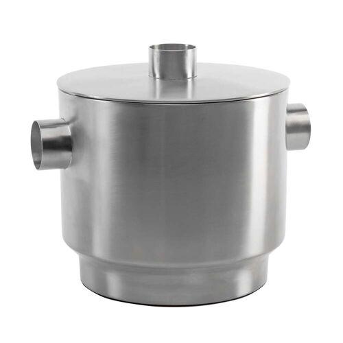 XLBoom - Rondo Eiswürfelbehälter, Edelstahl, Ø 18 cm