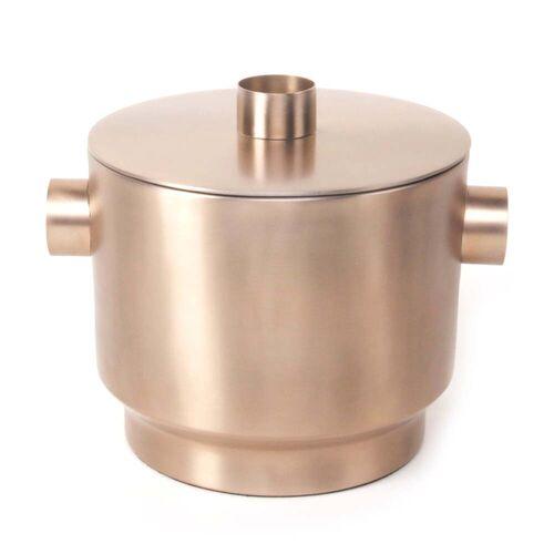 XLBoom - Rondo Eiswürfelbehälter, Stahl kupfer, Ø 18 cm