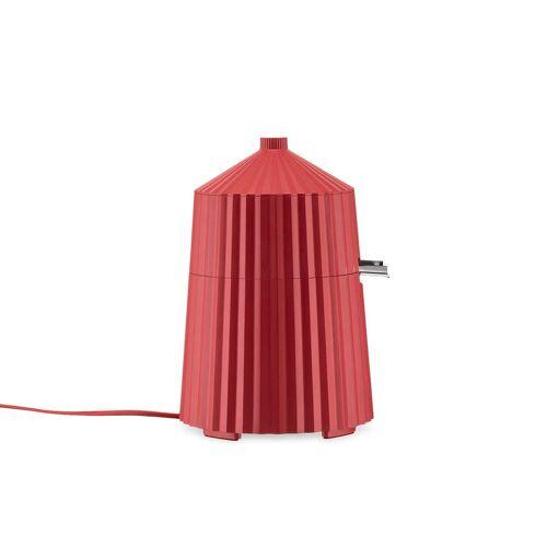 Alessi - Plissé elektronische Zitronenpresse, rot