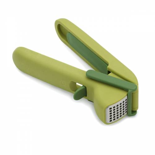 Joseph Joseph - CleanForce Knoblauchpresse mit Wischerblatt, grün