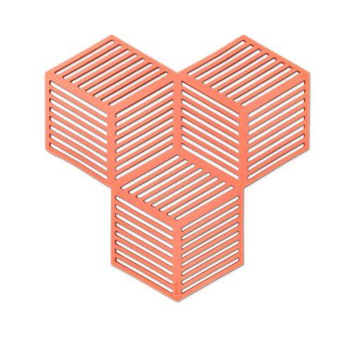 Puik - Sico Untersetzer (4er-Set), terrakotta