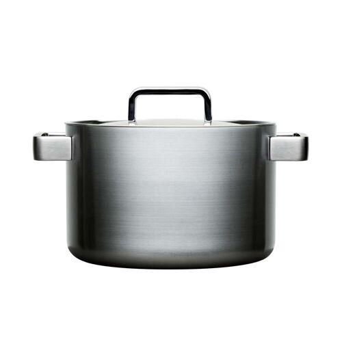 Iittala - Tools hoher Topf mit Deckel Ø 22 cm, 5 Liter