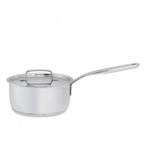 Fiskars - All Steel Saucentopf mit Deckel, 1.5 Liter