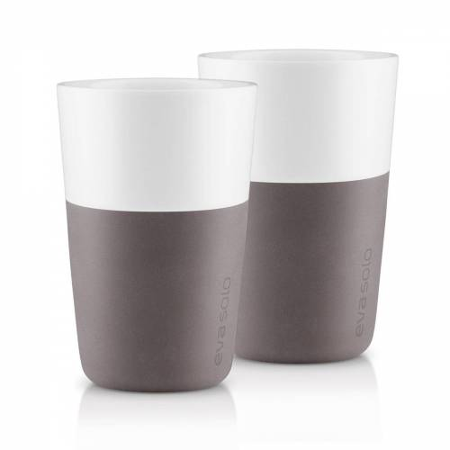 Eva Solo - Caffé Latte-Becher (2er-Set), grau