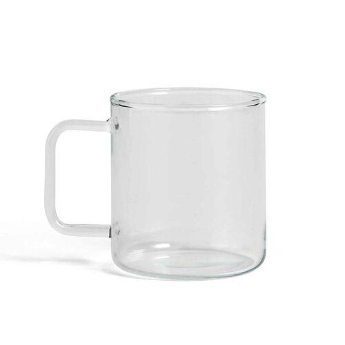 HAY - Glas Kaffeetasse, klar