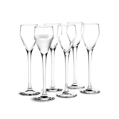 Holmegaard - Perfection Schnaps-Glas, 5,5cl (6er-Set)