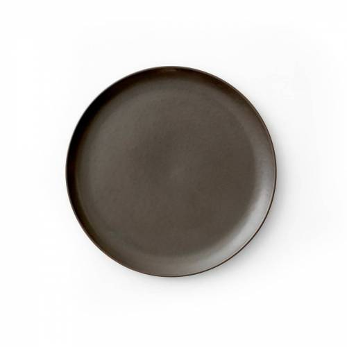 MENU - New Norm Beilagenteller Ø 19 cm, dark glazed