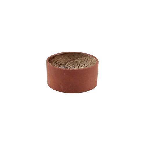 House Doctor - Retro Schale, Ø 10 cm, Terrakotta / beige