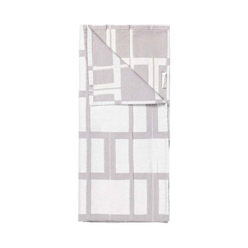Broste Copenhagen - Benny Geschirrtuch, 50 x 70 cm, rainy day / flintstone (2er-Set)