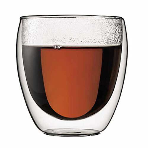 Bodum - Pavina doppelwandiges Trinkglas, 0.25 l (2er Set)