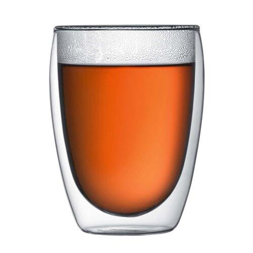 Bodum - Pavina doppelwandiges Trinkglas, 0.35 l (2er Set)