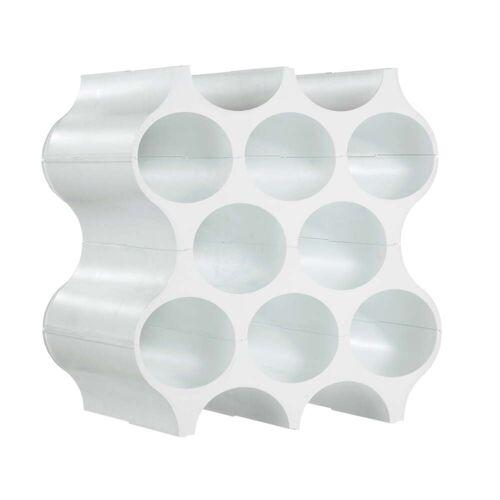 Koziol - Flaschenregal Set-Up, solid weiß