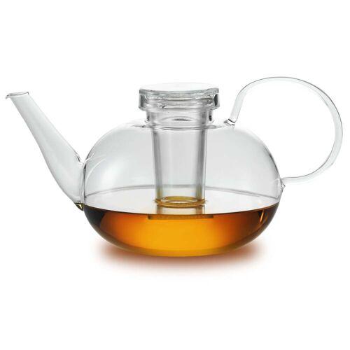 Jenaer Glas - Wagenfeld Teekanne mit Deckel und Filter
