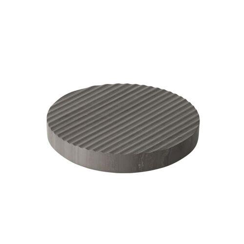 Muuto - Groove Marmor-Untersetzer Ø 16 cm, grau