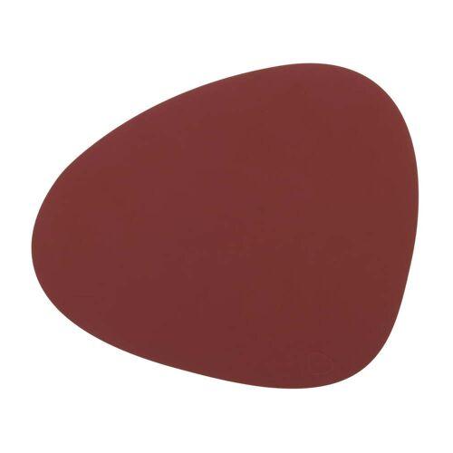 LindDNA - Tischset Curve L, Nupo rot