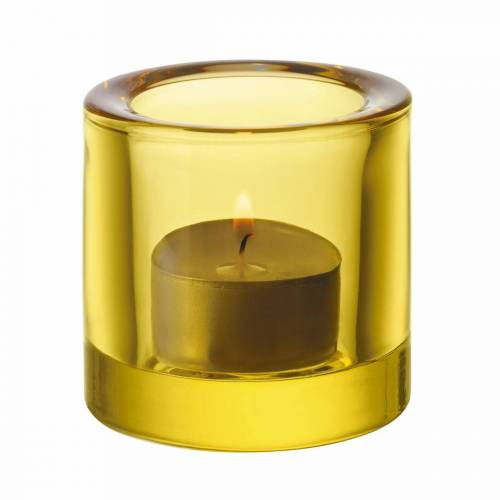 Iittala - Kivi Teelichthalter, lime / zitrone